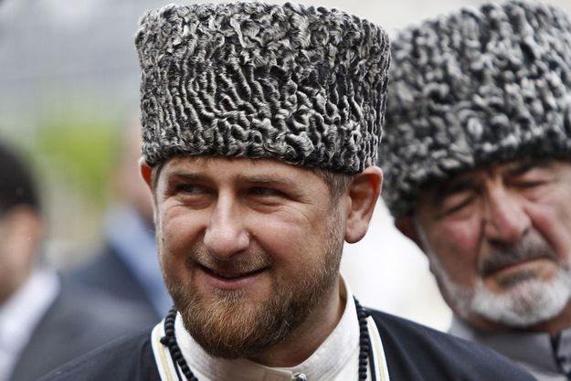 Le président tchétchène Ramzan Kadyrov en mai 2013 à Grozny.
