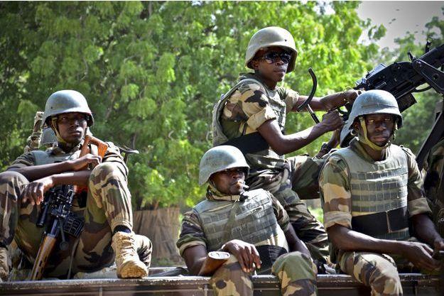Des troupes au sol luttent contre Boko Haram.