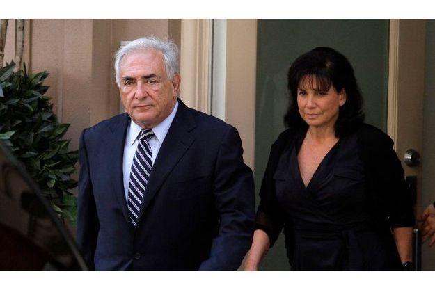DSK et Anne Sinclair, le 24 août 2011.