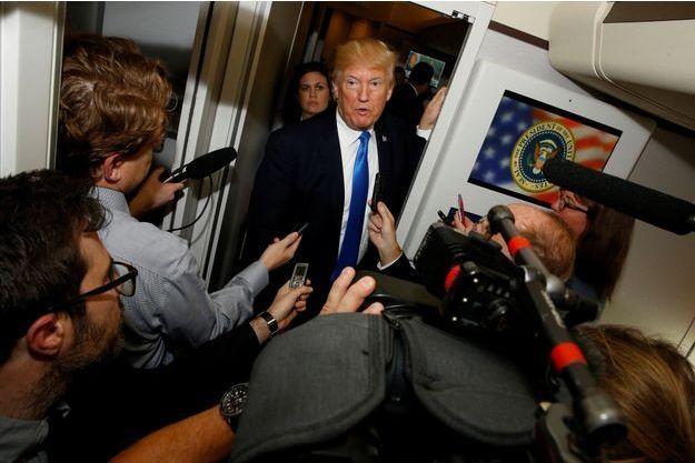 Donald Trump lors de sa tournée en Asie.