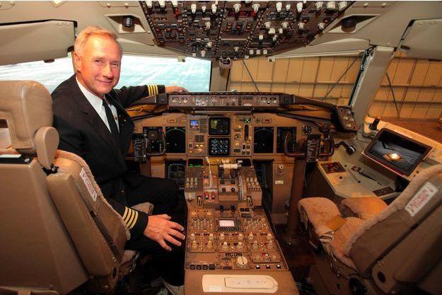 John Dunkin, le pilote de Donald Trump, en novembre 2014.