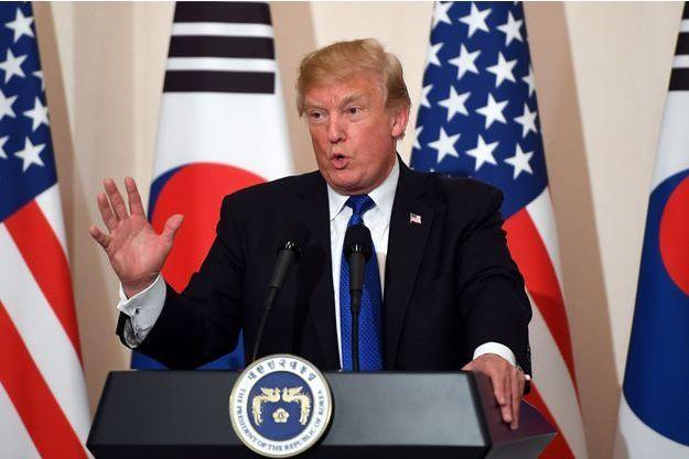 Donald Trump à Séoul, le 7 novembre 2017.
