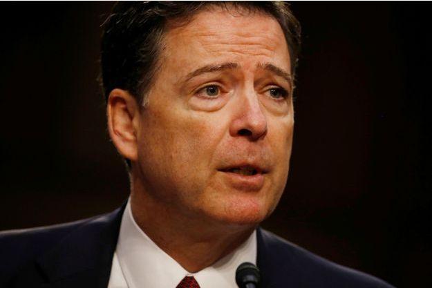 L'ancien directeur du FBI James Comey.
