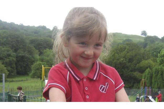 La petite April Jones, sur un cliché diffusé par la police locale.