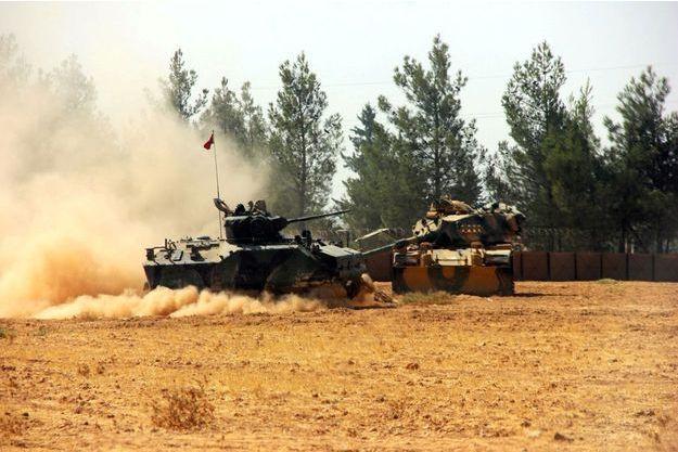L'opération Bouclier de l'Euphrate a été lancée mercredi matin en Syrie.