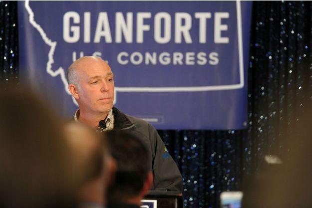 Greg Gianforte, le républicain élu dans le Montana.
