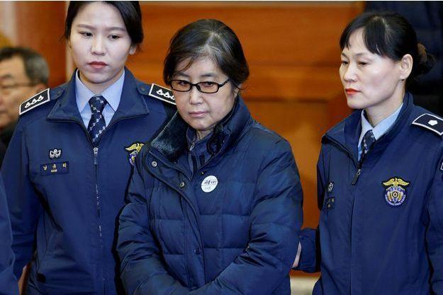 Choi Soon-Sil a été condamnée à trois ans de prison