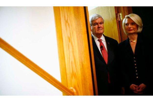 Newt Gingrich et sa femme Callista.