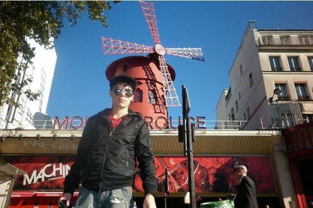 Luka Magnotta, à Paris, sur une photo non datée.