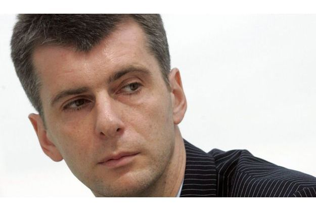 Mikhaïl Prokhorov, l'homme le plus riche de Russie.