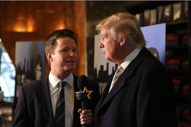 Billy Bush et Donald Trump, en janvier 2015.