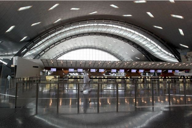 L'aéroport international Hamad de Doha.