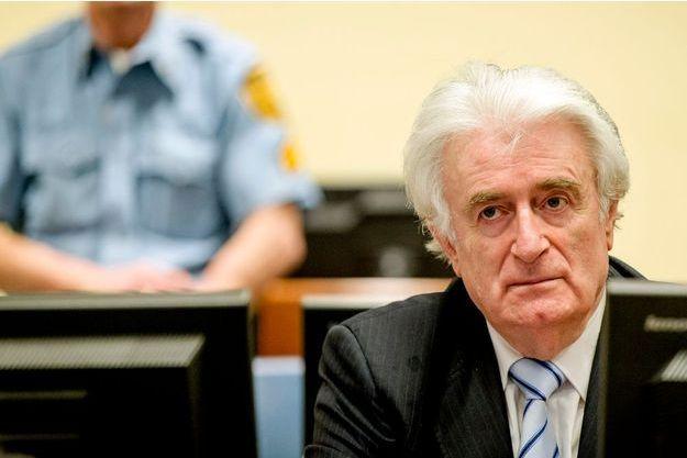 Radovan Karadzic lors de son procès à La Haye
