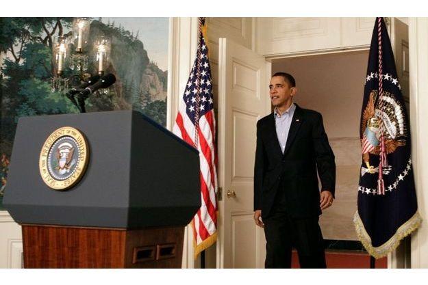 Barack Obama s'est félicité des progrès faits dans l'asoption de la réforme du système de santé.