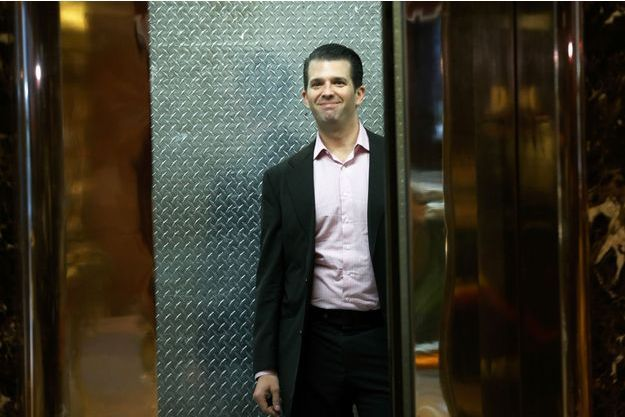 Donald Trump Jr à la Trump Tower, en novembre 2016.