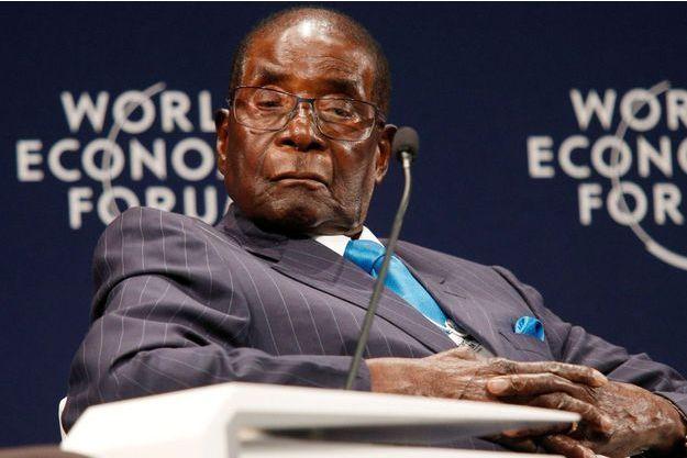 Robert Mugabe, le 4 mai 2017.