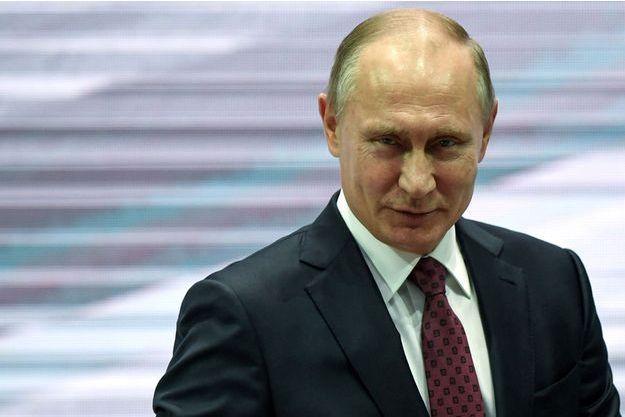 Vladimir Poutine à Moscou le 29 novembre 2017