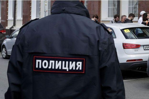 Un policier à Moscou en juillet (photo d'illustration)