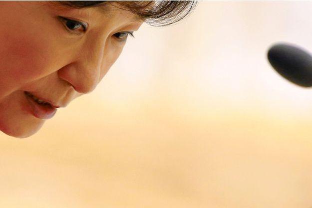 La présidente Park Geun-Hye