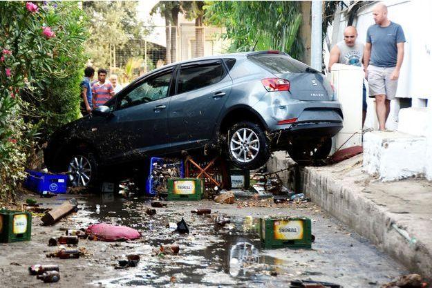 Le séisme a touché la Turquie vendredi.