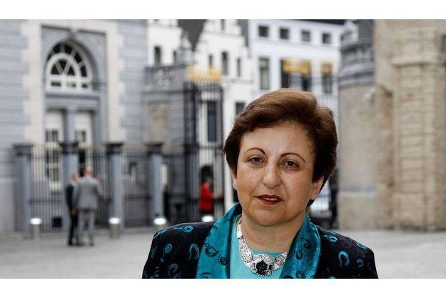 La prix Nobel Shirin Ebadi.