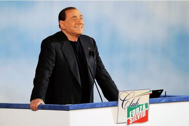 Silvio Berlusconi à Rome, dimanche dernier, pour le lancement de son club politique «Forza Silvio».