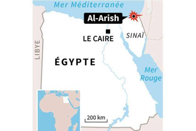 L'attaque de samedi a eu lieu au poste de contrôle près d'Al-Arich, chef lieu du Nord-Sinaï.