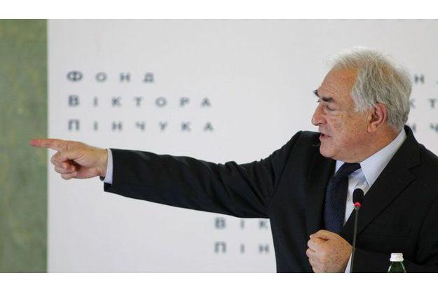 Dominique Strauss-Kahn, le 4 avril dernier, à Kiev.