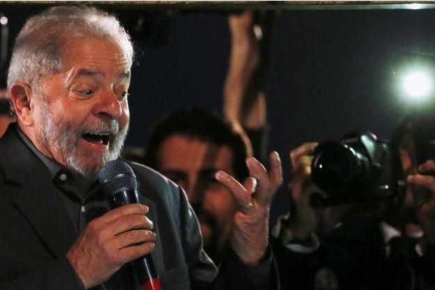 L'ancien président Lula.