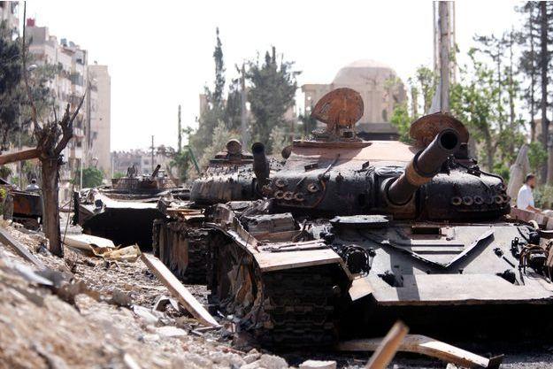 La ville de Douma a été reprise aux rebelles.