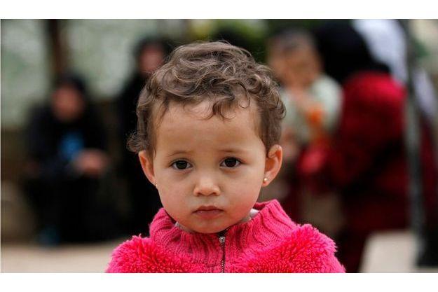 Rima a perdu son grand frère Mohammed Walid dans les combats contre l'armée syrienne.