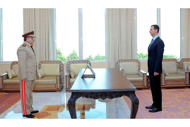 Le ministre de la Défense Dawoud Rajha était un proche de Bachar al-Assad.