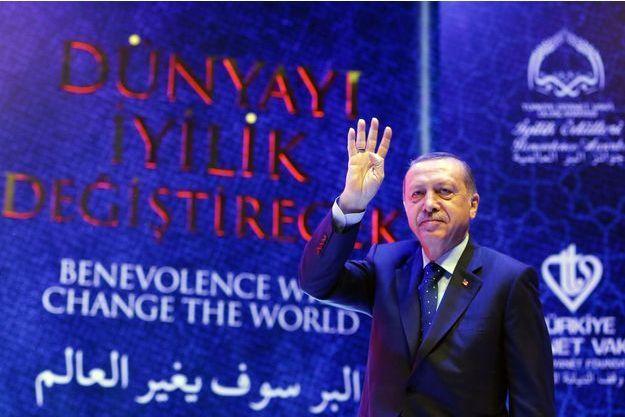 Le président turc Recep Tayyip Erdogan, le 12 mars 2017.