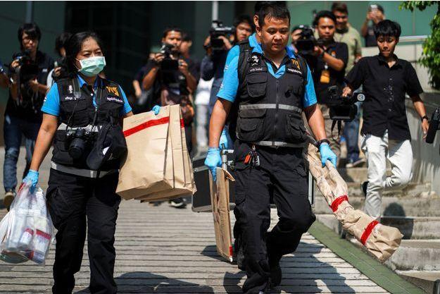 Au moins 20 personnes ont été blessées dans l'explosion survenue lundi à Bangkok.