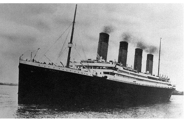 Le «Titanic», le 10 avril 1912, à Southampton.