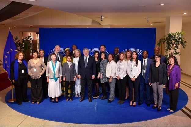 Une vingtaine de lauréats du prix Sakharov étaient réunis à Bruxelles, au Parlement européen.