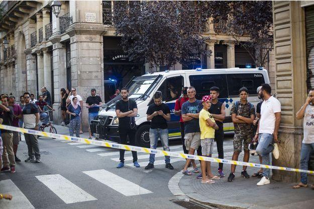 Attentat à Barcelone, en août 2017