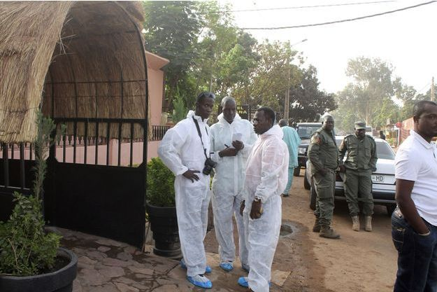 Bamako, la capitale du Mali où a eu lieu l'attentat