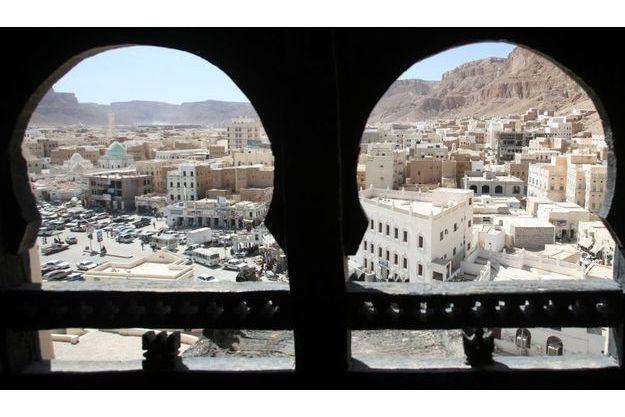 Une vue de la ville de Seyoun, au Yémen, où trois humanitaires français ont disparus samedi après-midi.