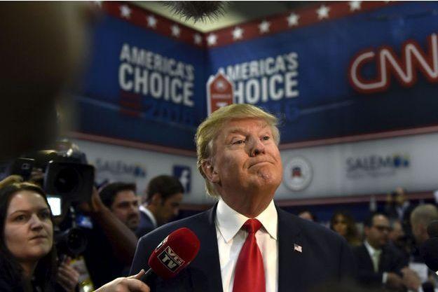 Donald Trump mardi sur CNN