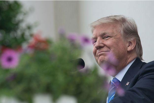 Donald Trump le 29 mai à Arlington, en Virginie.