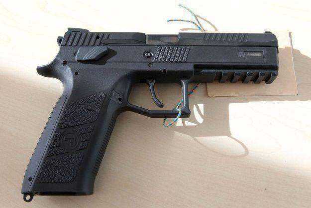 La tuerie de Munich a fait neuf victimes. Voici l'une des armes du tueur.