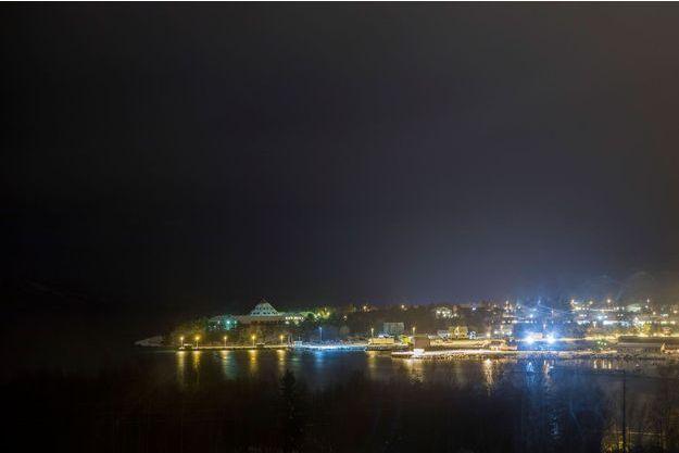 Tysfjord, en novembre 2017