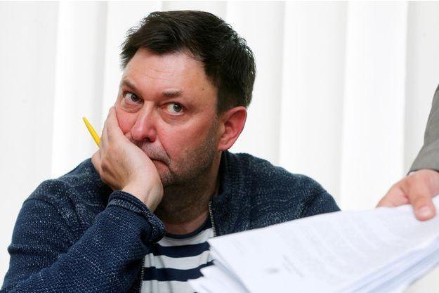 Le journaliste ukraino-russe Kyrylo Vychynski.