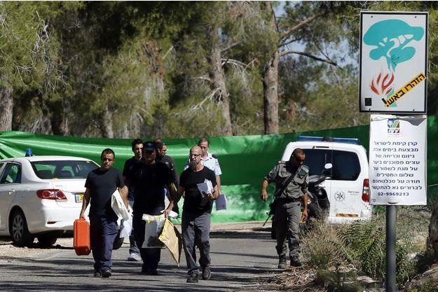 Le corps sans vie du jeune Palestinien a été retrouvé mercredi matin dans la forêt de Jérusalem.