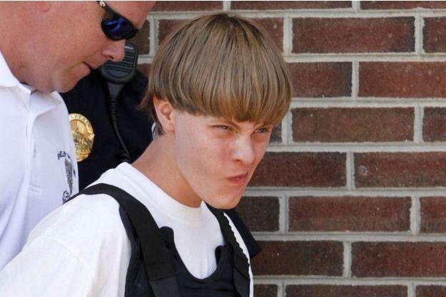 Dylan Roof lors de son arrestation.