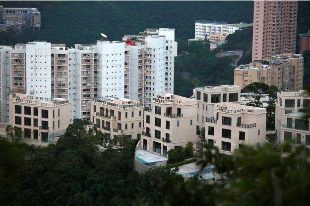 Des immeubles à Hong Kong.
