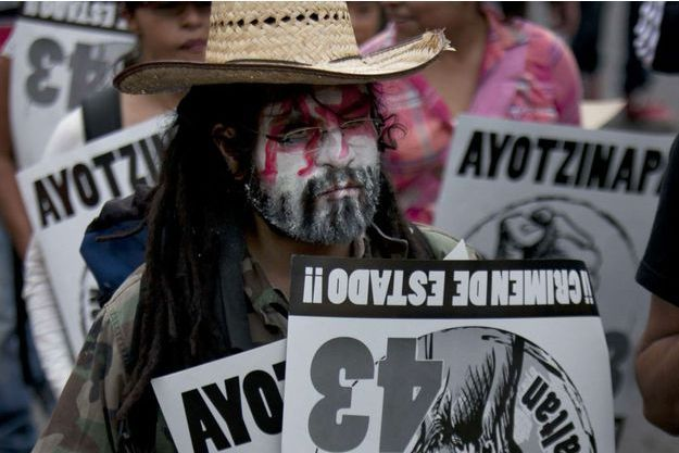 Une manifestation, en juin dernier, appelant les autorités à faire la lumière sur la disparition des 43 étudiants d'Iguala.