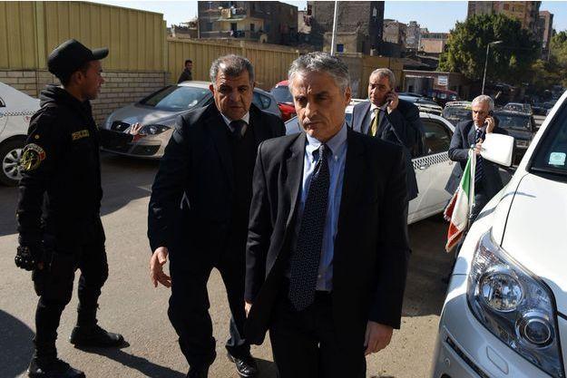 L'ambassadeur italien en Egypte Maurizio Massari.
