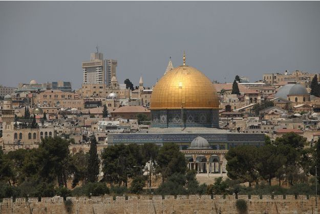 Mosquée Al-Aqsa, Jérusalem.